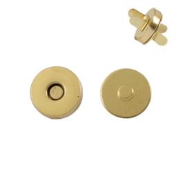 Магн,кнопка 18мм брасс роллинг