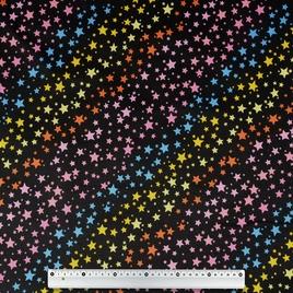 Дизайн 500Дх300Д ПВХ CSВ 8627-5 цветные звезды на черн