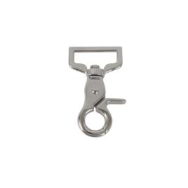 Карабин К 4812 25мм (7550) никель роллинг