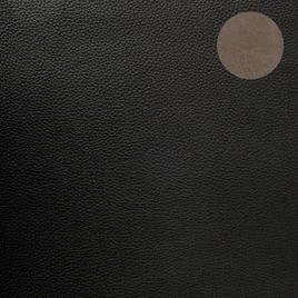 Кожзам K637  D433-401#  черн с двухсторонним покрытием ПВХ