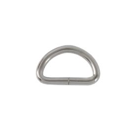 Полукольцо 20х10мм (3мм) никель (4666(20))