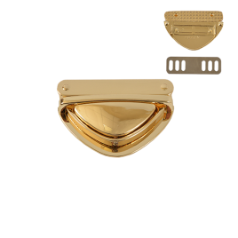 Замок 6572 светлое золото полир (13)