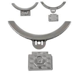 Замок 8341-8317 никель полир