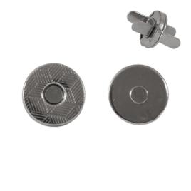 Магн,кнопка №16 10мм никель роллинг Y