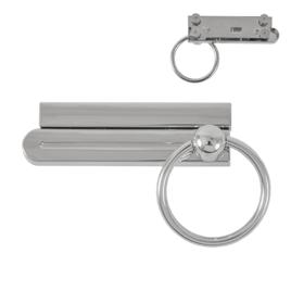 Застежка поворотная TL-530-05 никель полир