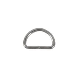 Полукольцо 20х12 мм (2,5мм) никель D