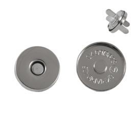 Магн,кнопка ЕВ-01 18мм никель роллинг L