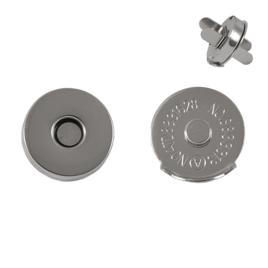 Магн,кнопка КД 0878 18мм никель роллинг L