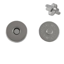 Магн,кнопка 18мм никель роллинг L