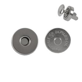 Магн,кнопка 14мм+холн d=12мм никель L