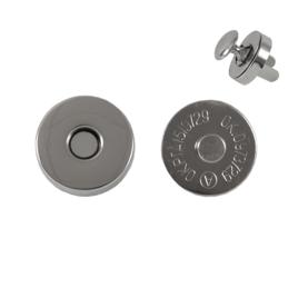 Магн,кнопка 18мм+холн d=12мм никель L