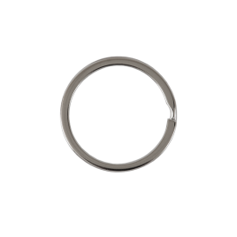 Кольцо для ключей BSQ d внутр =35,1 мм (BSQ d внутр=29,02 мм, толщина 2,26 мм) никель роллинг