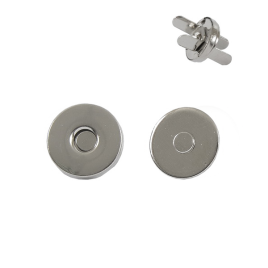 Магн,кнопка №16 10мм никель роллинг L