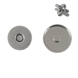 Магн,кнопка ЕВ-01 14мм никель роллинг L