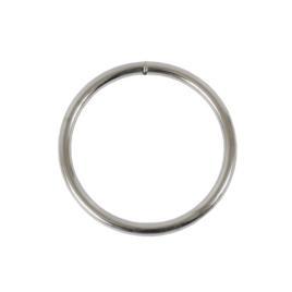Ручкодерж №5(кольцо) разьемн 4,3/39,4/48мм никель роллинг D