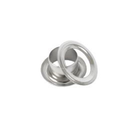 Люверс круглый 6/10,5мм  никель роллинг D