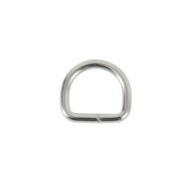 Полукольцо 15х13 мм (2,8мм) никель роллинг D