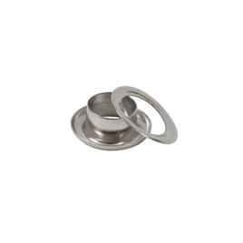 Люверс круглый 8/13,8 мм никель роллинг П
