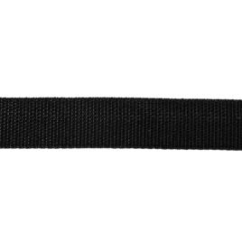 Лента-тесьма 450Д 22мм 322 черн 6,61гр/м #